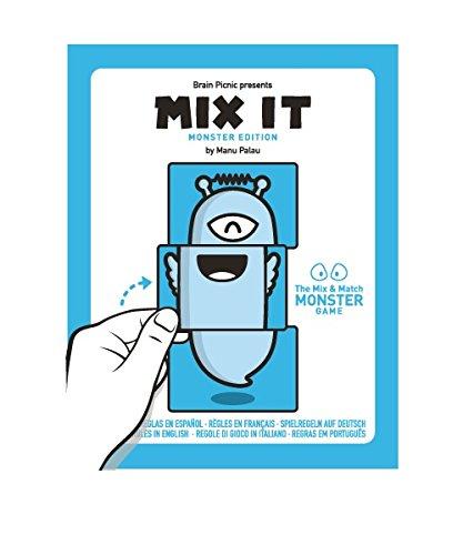 Zacatrus!- Mix it Juego de Mesa, Color Azul y Blanco (Brain Picnic...