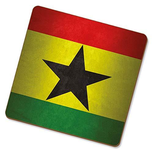 eSwish Drink Coaster nationale vlaggen Ghana/Ghanees
