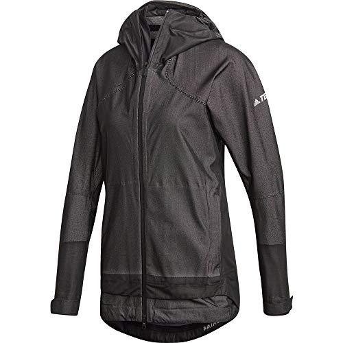 adidas Damen W WP P-Knit JKT Jacke, Negro, M