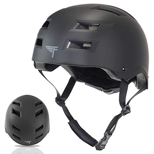 Flybar Multi-Sport Adjustable Fit Helmet, L-XL, Black