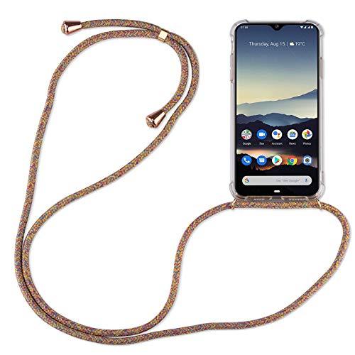betterfon   Handykette kompatibel mit Nokia 6.2/7.2 Smartphone Necklace Hülle mit Band - Schnur mit Hülle zum umhängen in Nokia 6.2/7.2 Rainbow