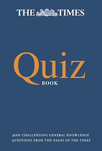 The Times Quiz Book: 4000 challe...