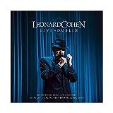 Leonard Cohen Albumcover Live in Dublin, Leinwand-Poster,