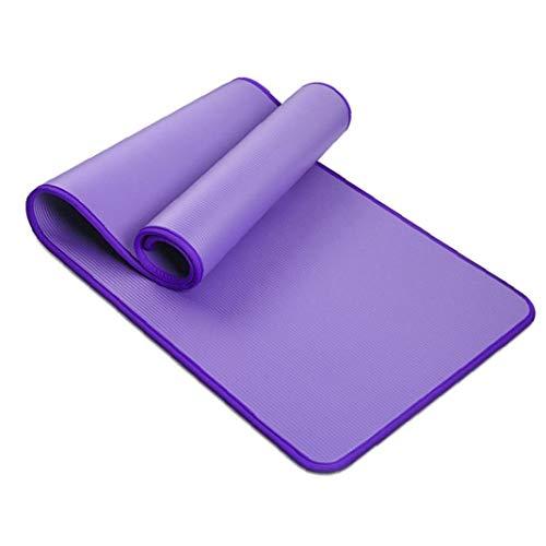 Hiinice Yoga Mat Pilates Ejercicio Antideslizante De Entrenamiento De La Aptitud del Entrenamiento Grueso Nbr Mats Doble Capa Exterior del Producto Resistencia Al Desgarro