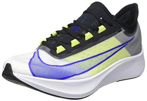 Nike Zoom Fly 3, Scarpe da Corsa Uomo, White/Racer Blue-Cyber-Black, 45 EU