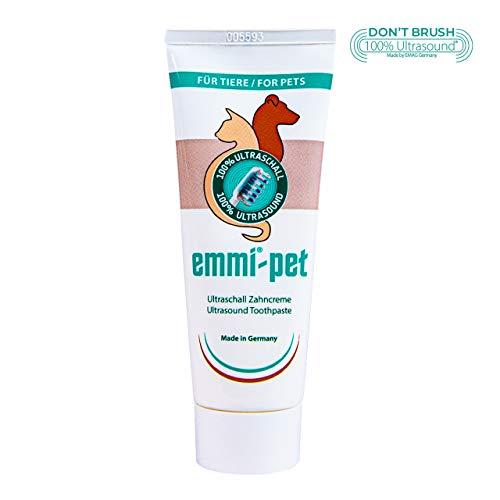 Emmi-pet 1x Hundezahncreme für Ultraschallzahnbürste – für alle Hundegrößen
