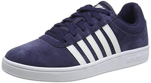 K-Swiss Herren Court CHESWICK SPSDE Sneaker, Blau (Navy/Wht/Baladblu 452), 43 EU