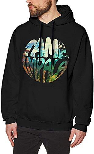 CCANE7 Lustige Tops Herren Musik Band Tame Impala Innerspeaker Fashion Hooded Sweatshirts Langarm Pullover Hoodies