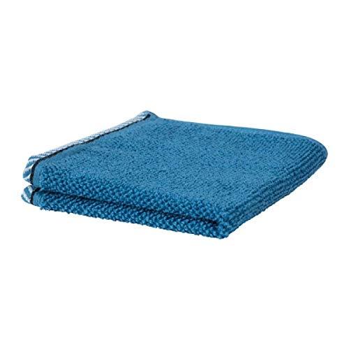 Ikea VIKFJARD Waschlappen blau 804.147.32 Größe 12x12