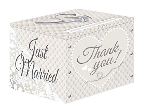 Folat NEU Sammel-Box Hochzeit, weiß, 1 Stück