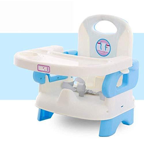 LQBDJPYS Hochstuhl Kinderstuhl Kinderspeisesessel, Klapptisch-Baby-Esstisch Rückenlehne Kindersitz (Color : C)