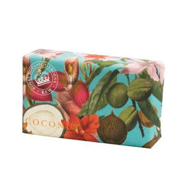 謝罪するのために縁石English Soap Company イングリッシュソープカンパニー KEW GARDEN キュー?ガーデン Luxury Shea Soaps シアソープ Coconut ココナッツ