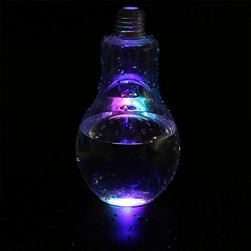 Surenhap LED Glühbirne Trinkflasche Glas Glühbirne Trinkglas Wasserflasche