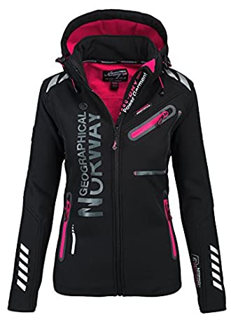 Geographical Norway Softshell Herbstjacke Damen