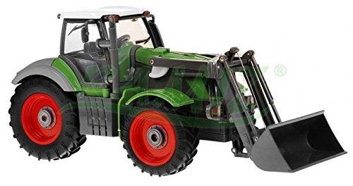RC Traktor kaufen Traktor Bild 1: Traktor mit Anhänger QY8301I im Maßstab 1:28 - Ferngesteuertes Traktor inkl. Fernsteuerung - RC Farm Car - Farm Traktor mit abnehmbarem Anhänger*
