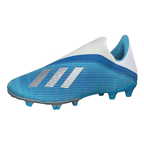 adidas Herren Fussballschuhe X 19.3 LL FG BRCYAN/CBLACK/SHOPNK 39 1/3