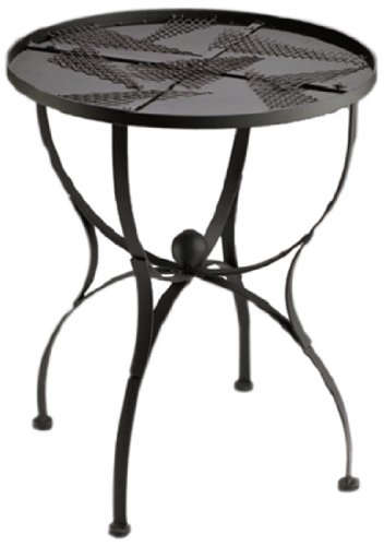 Bastelmaxi Mosaiktisch Tischrohling Tisch rund Durchmesser 60 cm, schwarz