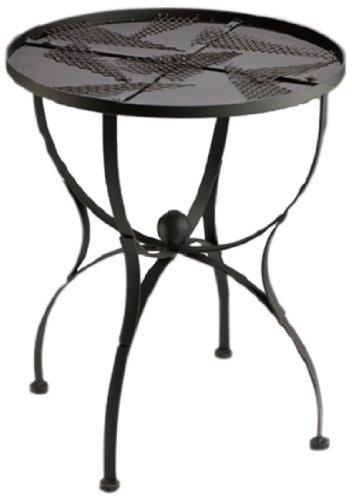 Knutselmaxi mozaïektafel tafel rond, diameter 60 cm, zwart