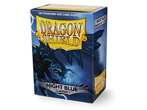 Dragon Shield Classic Night Blue Standard Size 100 ct Card Sleeves Individual Pack