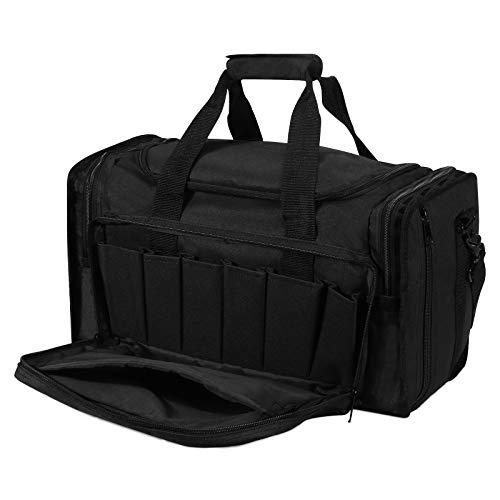 UBORSE Taktische Waffentasche für Pistolentasche Jagdtasche Tactical Range Bag Gun Range Tasche für Pistolen Airsoft Schießstand Tasche Militärausrüstung