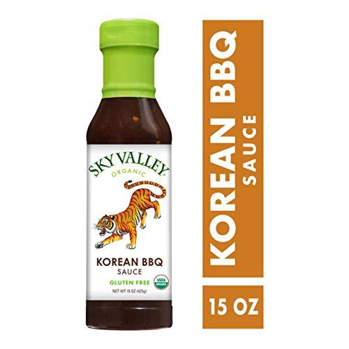 Sky Valley, Organic Korean Barbeque Sauce, 15 Ounce