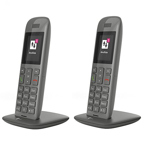 Telekom 143687 Speedphone 11 Duo Set Grafit