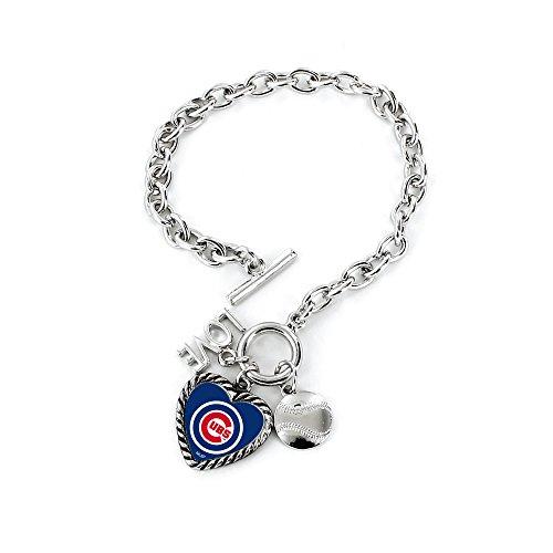 Aminco MLB Bracelet Charmed, Chicago Cubs