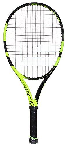 Babolat Pure Aero Junior 26 Raqueta de Tenis, Unisex niños, Negro/Amarillo, 0