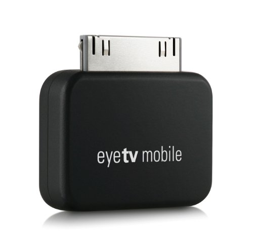 Elgato EyeTV Mobile Ricevitore Dtt TV Tuner per Apple iPad & iPhone 4S, Nero