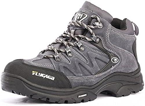 FLYGAGA Herren Wildleder Wasserdicht Atmungsaktiv Outdoor Footwear Sport Camping Wandern Trekking Trail Schuhe Stiefel
