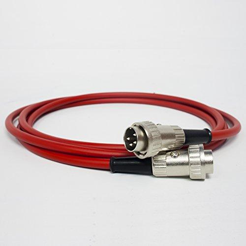 SNAIC-kabel van naim Premium. Pre amp aan versterker. Sluiting 4 pin naar 4 pin Din 50cm Rood