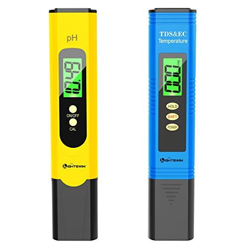Combo PH Mètre + EC Mètre de précision