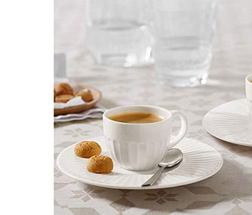 Tchibo 2 Premium Espressotassen mit Unterteller Espressotasse 120 ml