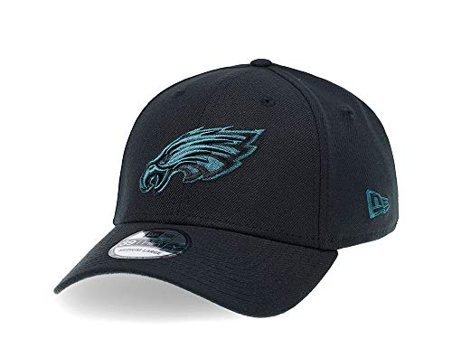 Gorra New Era Philadelphia Eagles Curved Black Edition 39Thirty Stretch - NFL...