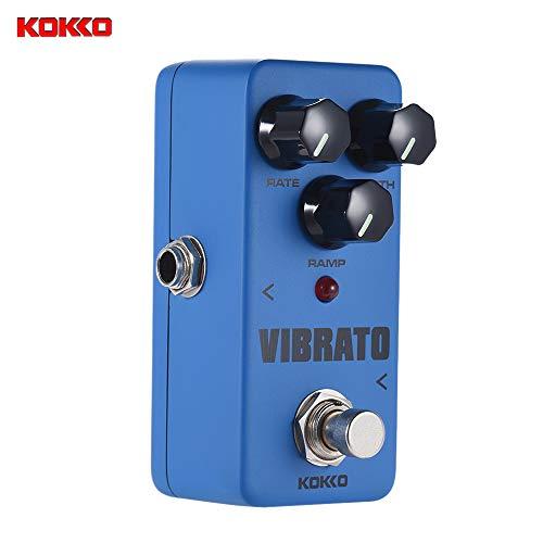 Kalaok VIBRATO Mini Tremolo elettrica effetto della chitarra Pedal True Bypass Shell Full Metal