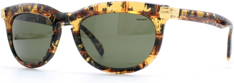 Vogart 3027 507 Yellow Certified Vintage Rectangular Sunglasses For Womens