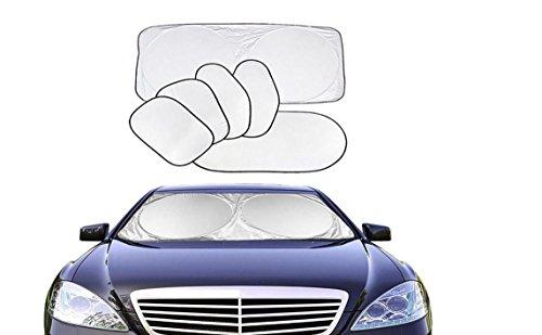 Nalmatoionme rétractable kit de pare-soleil de voiture pare-brise fenêtre solaire UV Ray Déflecteur de