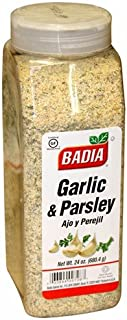 Badia Garlic and Parsley. 24 oz container. Large container