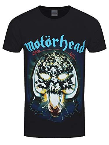 Motorhead Overkill - T-shirt - Manches courtes - Homme, Black, Medium
