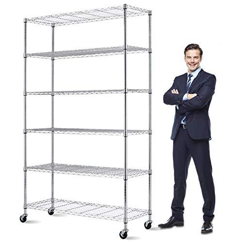 Storage Metal Shelf 6 Tier 82