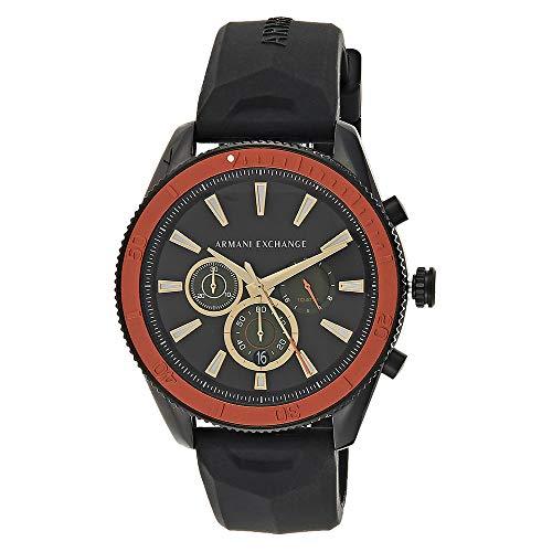 Armani Exchange Reloj Cronógrafo para Hombre de Cuarzo con Correa en Silicona AX1821