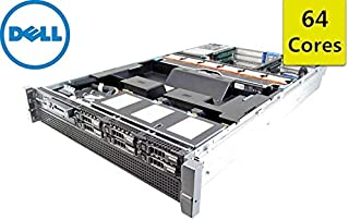 DELL PowerEdge R815 2U 64-bit Server + 4×AMD Opteron 6376 16-Core 2.3GHz CPUs + 256GB PC3-12800R DDR3 RAM + 6×300GB 10K SAS 2.5