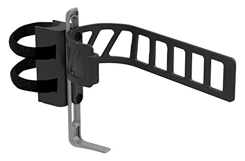 Clinch 650 Expandable Bottle Cage and Mount - Black/Gray