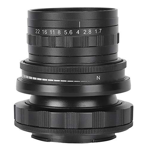 Obiettivo fotocamera 50 mm F1.7 per montaggio EOS.M Tilt Shift Manuale Full Frame Lens,per fotocamere Canon Mirrorless