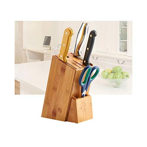 Cisne 2013, S.L. Bloque de Madera para Cuchillos y Utensilios de Cocina Organizador. Bloque Porta Cuchillos de Cocina. Medidas 16x22cm.