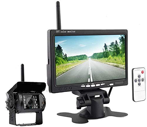 Kabellos Rückfahrkamera und Monitor,...