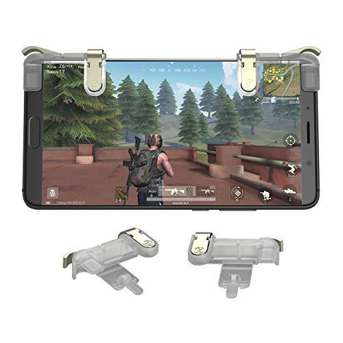 GameSir Mobile Trigger PUBG Sensitive Schießen und Zielen Tasten Trigger Tasten für PUBG, Knives Out, Rules of Survival