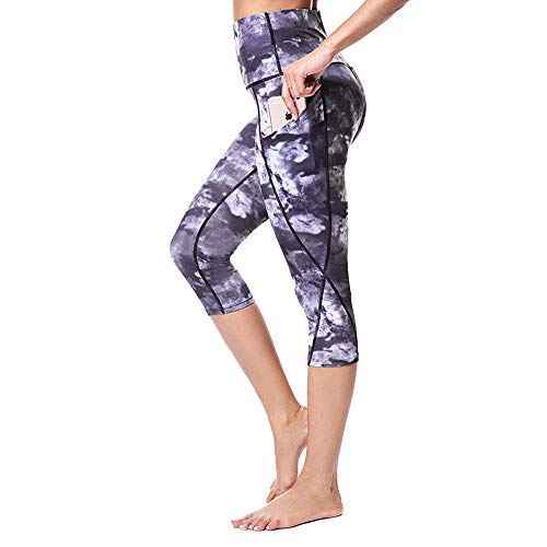 we fleece Yoga Pants with Pockets - High Waist Yoga Pants for Women Workout Yoga Leggings with Pokcets Tummy Control