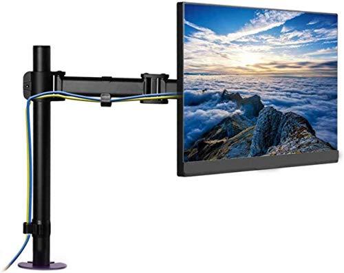 WJJ Soporte TV Pared Soporte TV Pantalla LCD Kit Adaptador textuales, El Soporte de exhibición Soporte Giratorio Universal del Monitor con el Almacenamiento