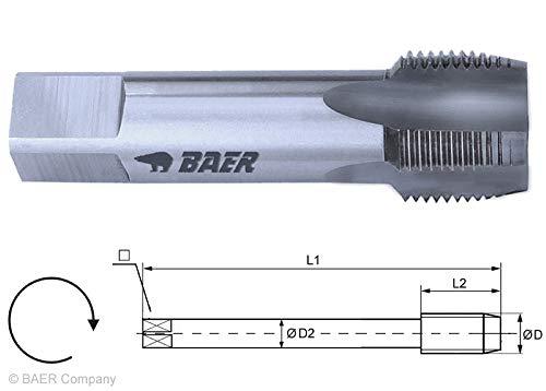 """HSSG Einschnittgewindebohrer Form D - G (BSP) 1\"""" x 11 - Gewindeschneider Rohrgewinde Maschinengewindebohrer"""